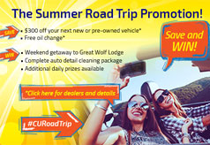 Summer road trip promotion!